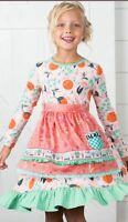 Sweet Clementine Dress Matilda Jane Girls Size 8 Joanna Gaines Coll.