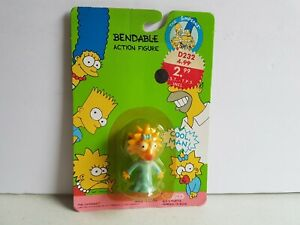 The-Simpsons-Maggie-Simpson-Sealed-on-Card-FOX-Action-Figure-1990