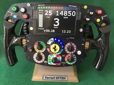 Vettel Raikkonen FULL SIZE  SF70H Rep Ferrari steering wheel_F1. Not Amalgam.