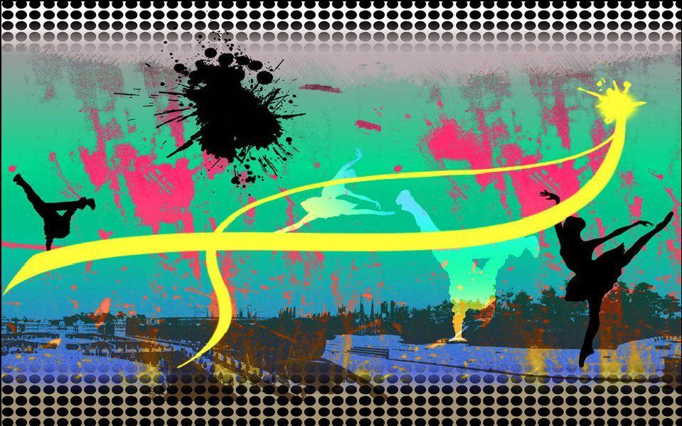 3D Graffiti 66 Parete Murale Foto Carta da parati immagine sfondo muro stampa