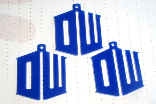 80s Retro Super Hero Logo Charms Pendants Kitsch Kawaii Movie Tardis Darlik