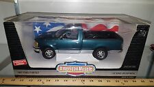 1/18 ERTL AMERICAN MUSCLE 1997 FORD F150 XLT PICK UP TRUCK PACIFIC GREEN yd