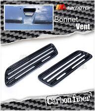 Carbon Fiber Bonnet Scoop Hood Air Twin Vents for Mitsubishi Evolution X EVO 10