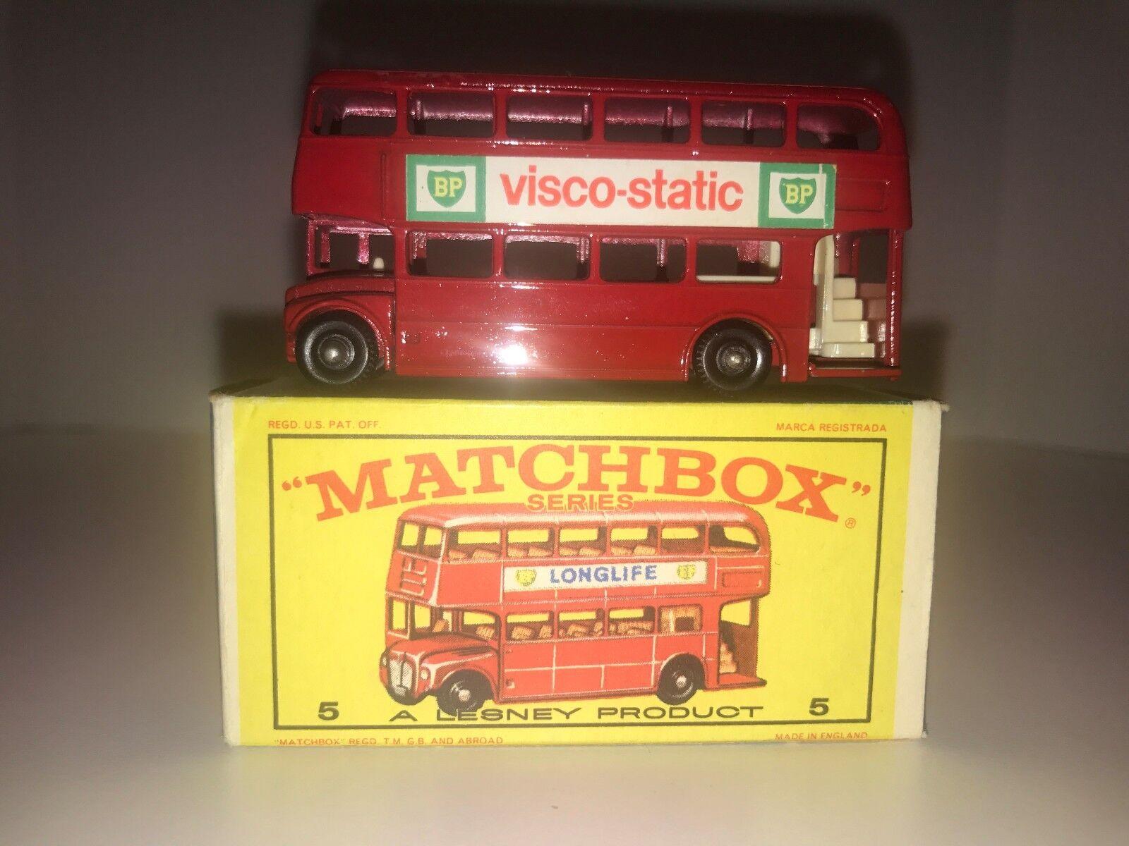Matchbox Lesney  5 London Bus, Mint In E4 Box
