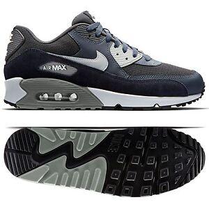para granito Antracita Air de hombre negro Zapatos Essential 90 Max 035 cuero 537384 Nike 7Y4FF