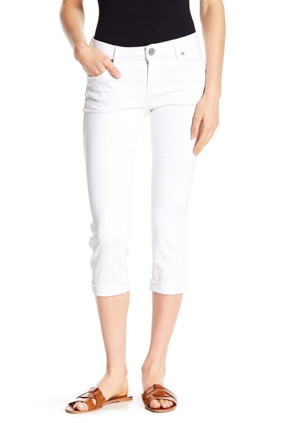 Kut från Klot 155029 Bardot Skinny Pojkvän vit Jeans Plus Storlek 18W