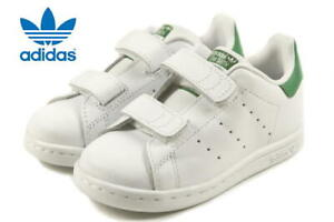 Details about Adidas Stan Smith Unisex Infant & Toddler Tennis Shoes WHITE GREEN M20609