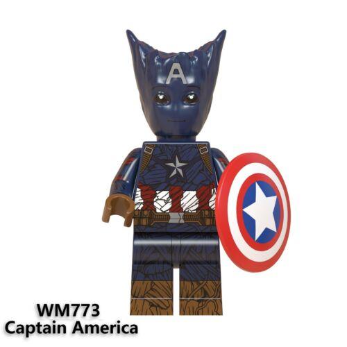 LEGO Avengers Minifigures Marvel DC Infinity War Endgame Iron Man Thor Hulk Odin