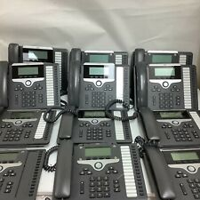 Lot Of 12 Cisco Cp 7861 Unified Ip Poe Business Phone Cp 7861 K9 With Headsets