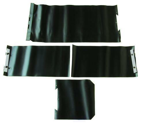 """WAY COVER PROTECTIVE USED ON BRIDGEPORT MILLS COMPLETE SET /""""NEW/"""""""