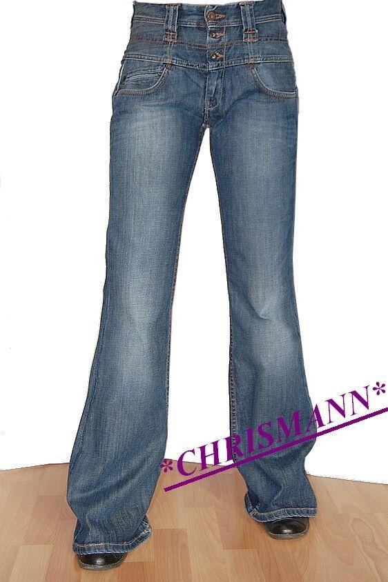 Pepe Jeans London High Waist Dazzle New Trousers W 26, W27, W28 L32