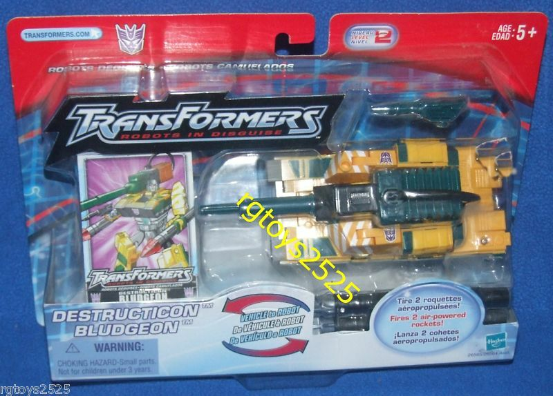 Transformers RID Destructicon blueDGEON New Factory Sealed KB Toys Exclusive 2002