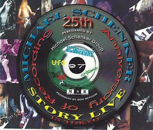 Doppio-CD-Michael-Schenker-25th-Anniversary-LIVE-CON-AUTOGRAFO