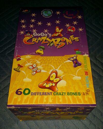 "LOT OF 36/> Crazy Bones GoGos The 1996 /""ORIGINAL/"" ☆SERIES 1☆ UNOPENED FOIL PACKS☆"