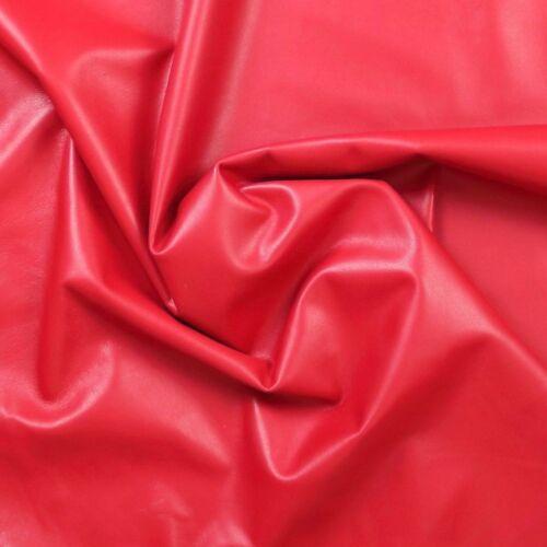 Rouge doux agneau napa Leather Hide 0.7 mm belle Lisse Ensemble Skins 16-54 ft²