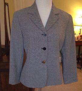 4 York lana Nyc in pantaloni e New Blazer Lafayette Perfezionare misto 148 In Taglia Made qvUOxwEI
