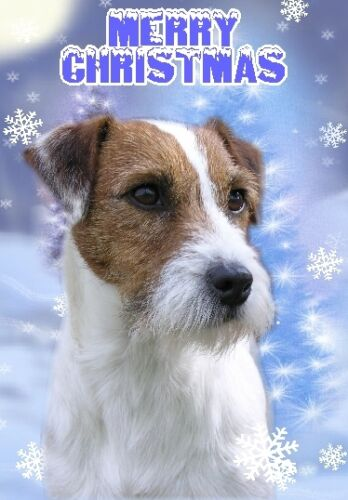 Parson Terrier Dog A6 Christmas Card Design XPARSON-10 by paws2print