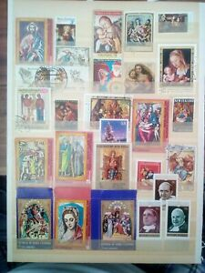 Religion-STAMPS-SELLOS-timbres-timbres
