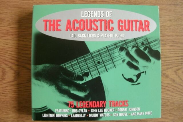 Various Artists - Legends Of The Acoustic Guitar (3xCD) . FREE UK P+P ..........