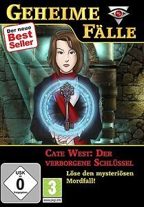 Geheime-Faelle-Cate-West-der-verborgene-Schluessel-fuer-Pc-Neu
