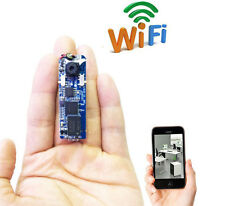 wireless WIFI module DIY mini IP network spy hidden nanny micro camera dvr