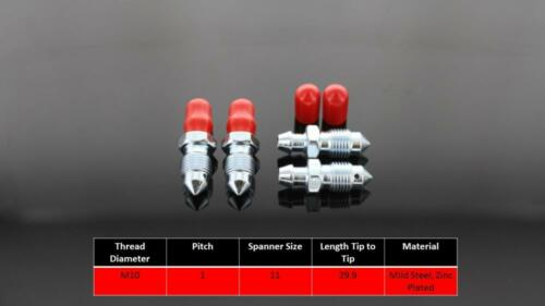 Porsche Cayenne 955 Front Brake Caliper bleed screws Brembo Calipers  39 4