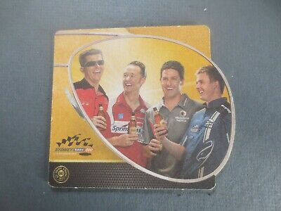 The WOOMBYE Pub Beer COASTER 1 only CASTLEMAINE XXXX special issue