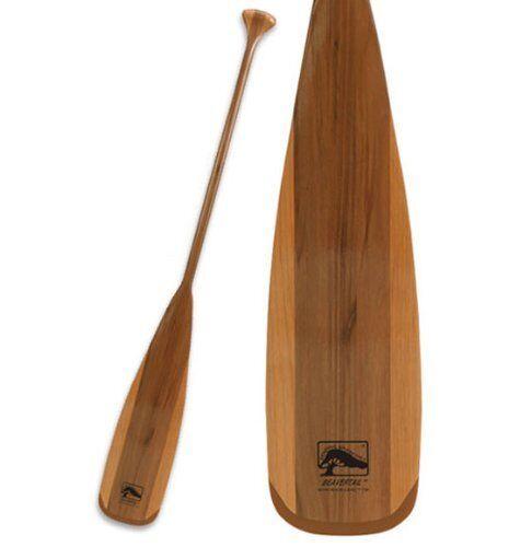 BeaGrünail Dauerhaltbares Leichtgewicht Holz Canoe Paddle für Tiefwasserpaddeln 57