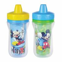 Disney Insulated Sippy Cup, Mickey Mouse, The First Years, 2 Pack 9 Ounce, on sale