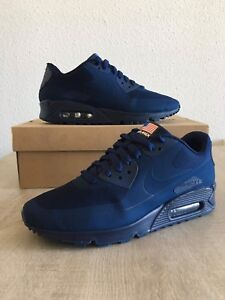 Details zu Nike Air Max 90 Hyperfuse Independence Day USA QS Midnight Navy 7US40EUR6UK