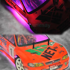1/10 RC Car Chassis Body LED Strip Tube Purple Color Lighting Stylish Cool LOOK