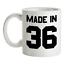 Made-in-039-36-Mug-83rd-Compleanno-1936-Regalo-Regalo-83-Te-Caffe miniatura 1