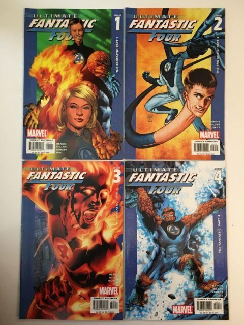 Marvel Comics Ultimate Fantastic Four lot