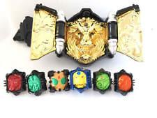Bandai Kamen Rider Wizard DX Beast Driver Belt w/6rings Masked rider Japan /3153