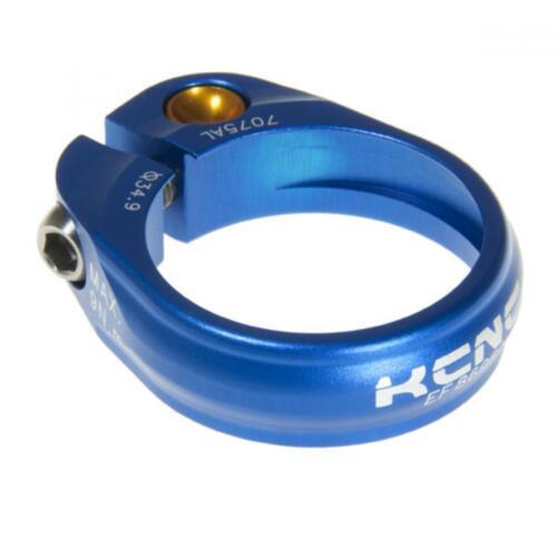 F89 Ti Bolt 34.9mm 14g gobike88 KCNC SC-9 Seatpost Clamp Blue