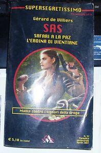 LIBRO-SAS-SAFARI-A-LA-PAZ-L-039-EROINA-DI-VIENTIANE-SUPERSEGRETISSIMO-NR-32-04-2007