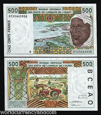 UNC CONDITION PIC#110A WEST AFRICA STATES 500 FRANCS 1997 YEAR