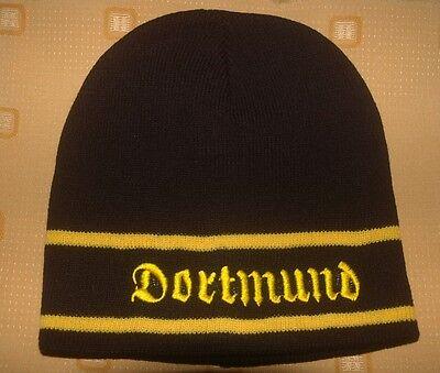 Dortmund 1 Mütze Wappen Strickmütze Fußball Fan Fanartikel