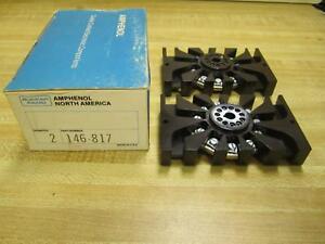 Amphenol 146-817 Set of Two