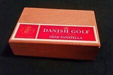 Danish Golf Demi Panatella Cigar Box