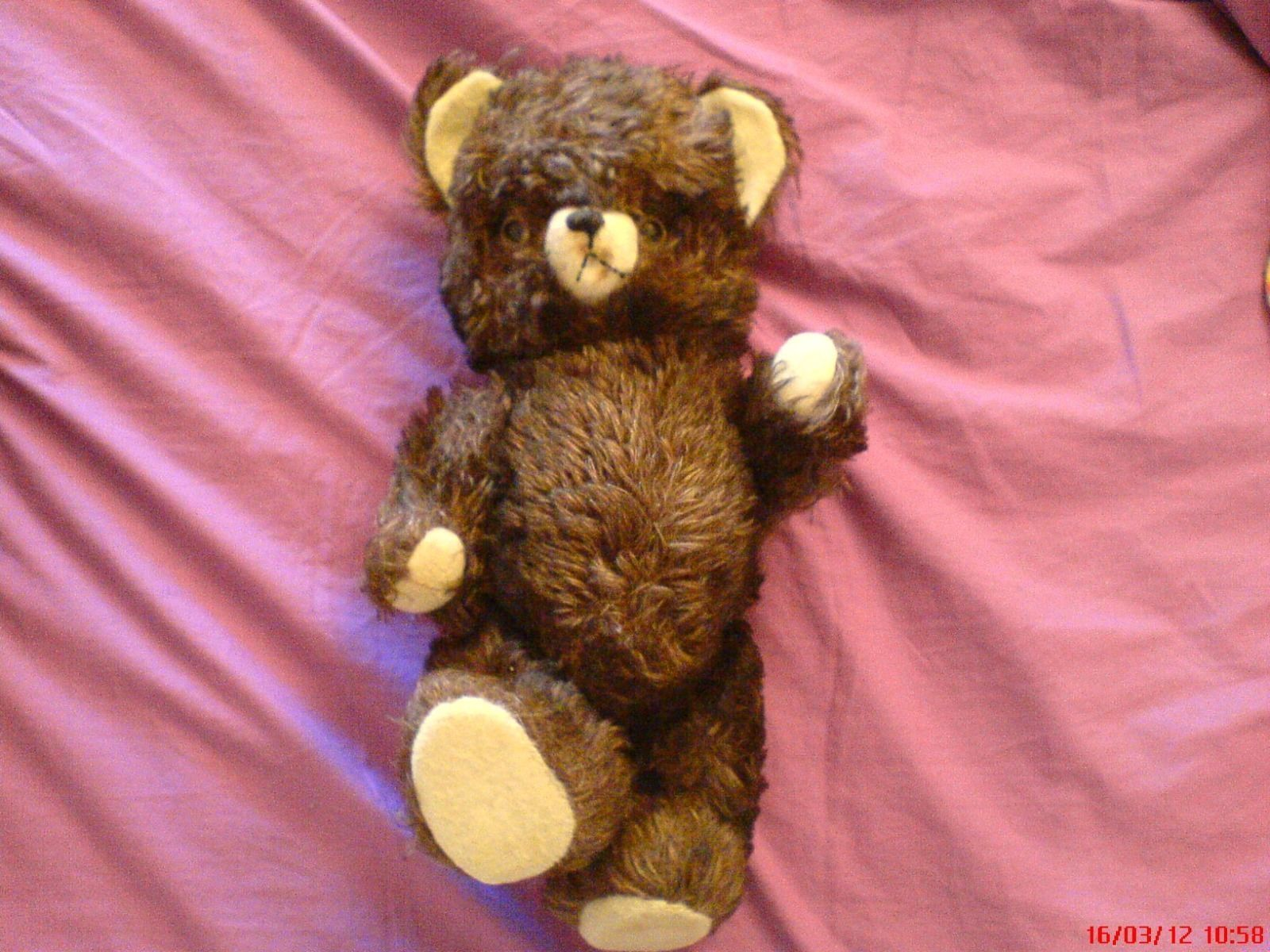 Ours en peluche. Teddy Bears années 50.