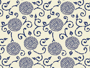BLUE-INDIGO-RHAPSODY-Design-Tissue-Paper-Sheets-15-034-x-20-034-Choose-Package-Amount