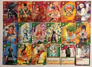 Dragon Ball Miracle Battle Carddass Promo Set JS01 20/20