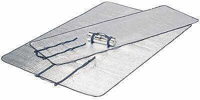 Aluminio-Aisladla-maletero unterlegmatte single 180cm x 55cm x 0,2cm Ø