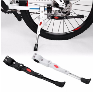 Bike Kick Stand Cycle Adjustable Rubber Foot Heavy Duty Prop Bicycle Mountain vk