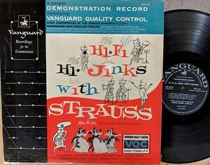 VANGUARD-QUALITY-CONTROL-DEMONSTRATION-RECORD-Hi-Fi-Hi-Jinks-With-Strauss-LP