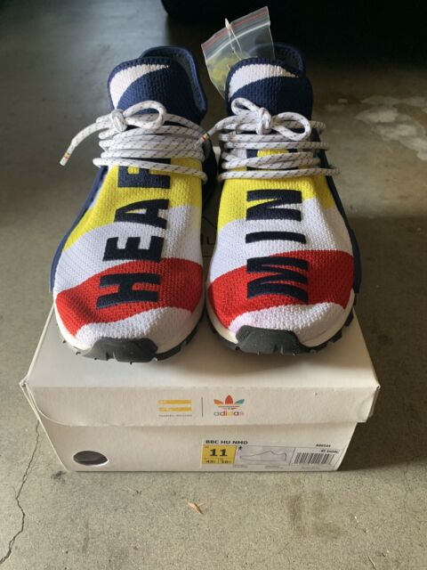 low priced 5b044 06dce Adidas Hu Pharrell X Billionaire Boys Club BBC NMD Human Race BB9544 Size  US 11
