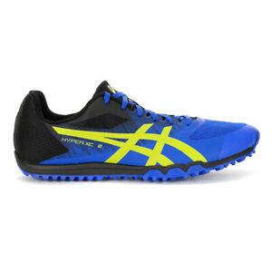 ASICS Unisex Hyper XC 2 Illusion Blue/Hazard Green Shoes 1093A080.400 NEW