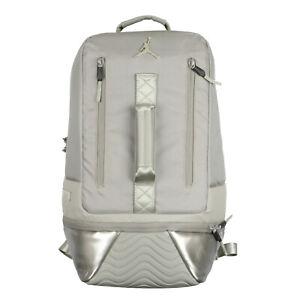 beau look prix officiel conception populaire Détails sur Jordan Rétro 11 Ordinateur Portable Sac à Dos Refroidir Gris  Verni Space Jam Xi