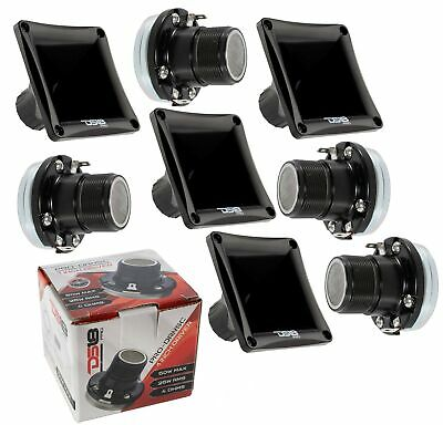 2x DS18 50W 4 Ohms Horn Compression Driver Neodymium PRO-DRNSC and PRO-H44 Combo